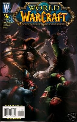 WORLD OF WARCRAFT #4 COVER A- NM (2008)