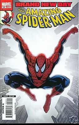 AMAZING SPIDER-MAN #552 NM (2008) BRAND NEW DAY