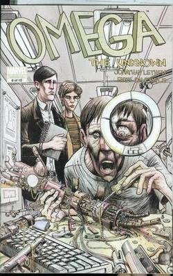 OMEGA THE UNKNOWN #6 NM (2008)