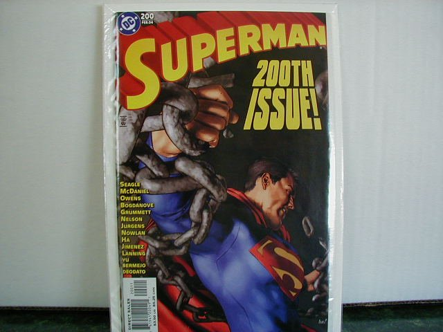 SUPERMAN #200 NM (2004)