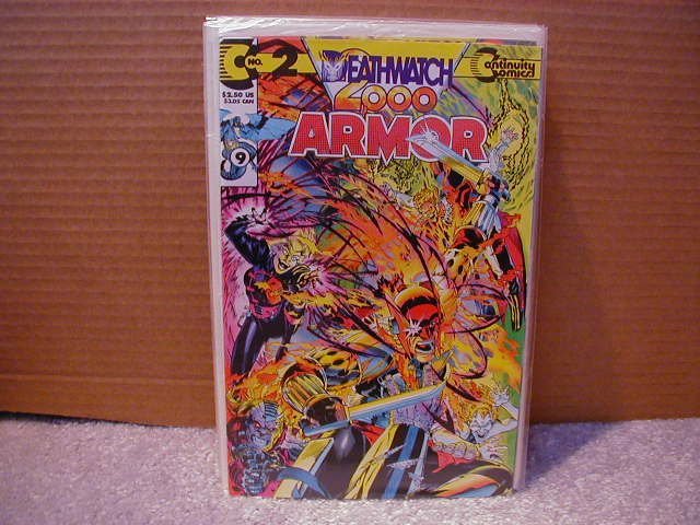 ARMOR #9 VF  OR BETTER