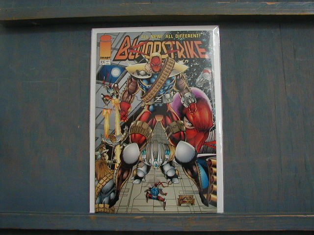 BLOODSTRIKE #25 VF/NM