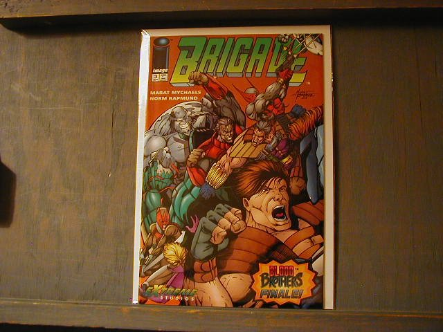 BRIGADE #3(MINI SERIES 1992) VF/NM