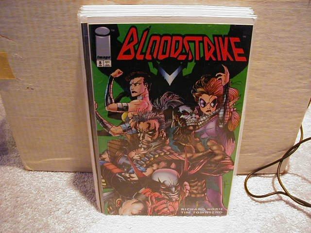 BLOODSTRIKE #8 VF OR BETTER