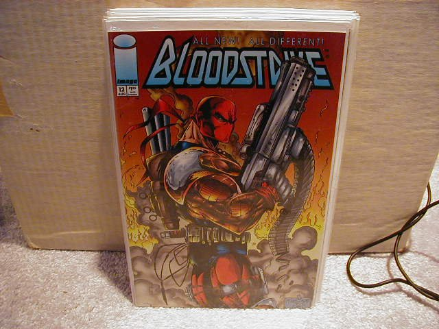 BLOODSTRIKE #12 VF OR BETTER