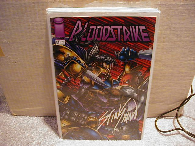 BLOODSTRIKE #14 VF OR BETTER