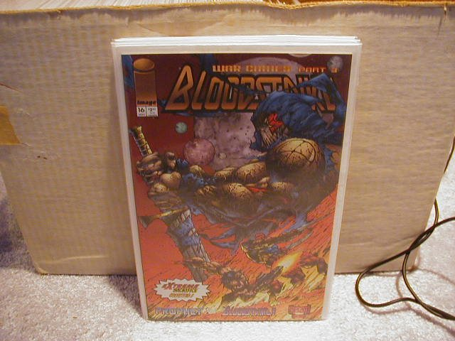 BLOODSTRIKE #16 VF OR BETTER