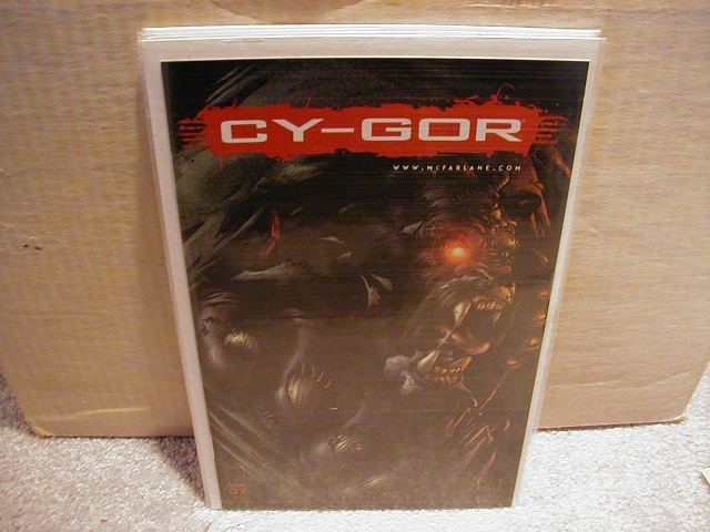 CY-GOR #1 VF OR BETTER