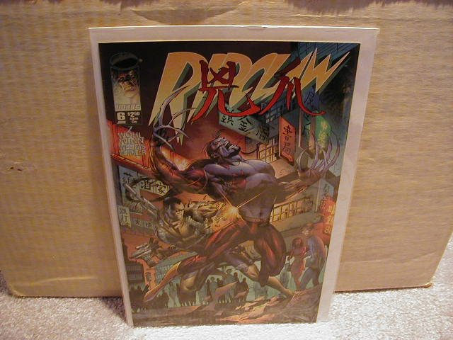 RIPCLAW #6 VF OR BETTER � IMAGE