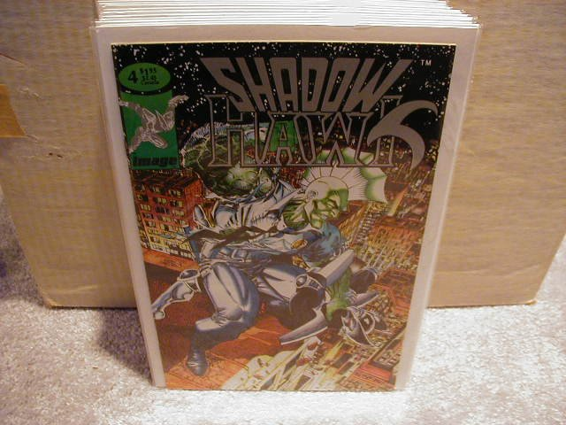 SHADOW HAWK #4 (3/1993) VF OR BETTER � IMAGE