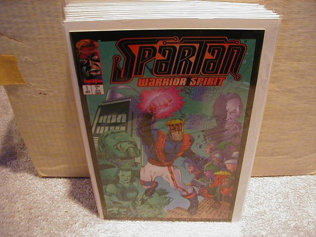 SPARTAN #1 VF OR BETTER � IMAGE