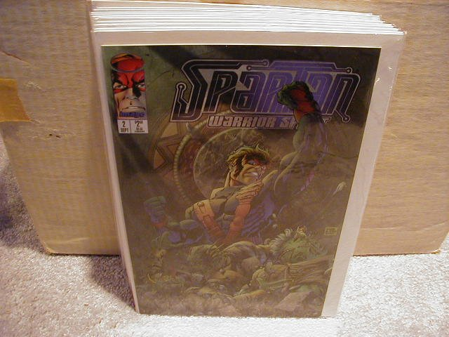 SPARTAN #2 VF OR BETTER � IMAGE
