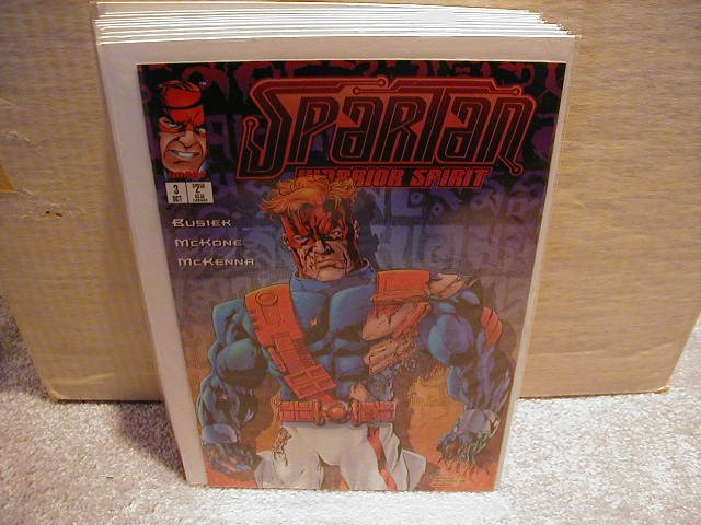 SPARTAN #3 VF OR BETTER � IMAGE