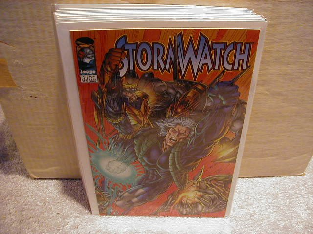 STORMWATCH #21(COVER SAYS #1) (4/95) VF OR BETTER - IMAGE -