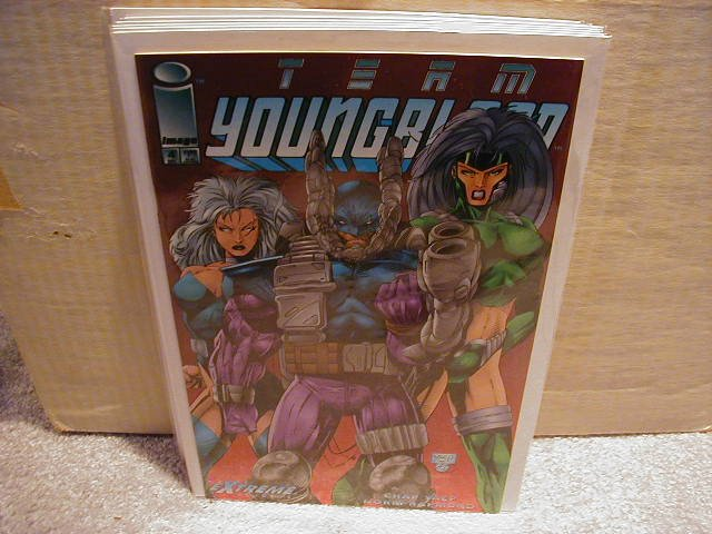 TEAM YOUNGBLOOD #4 VF OR BETTER � IMAGE �