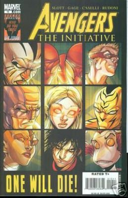 AVENGERS THE INITIATIVE #10 NM (2008)