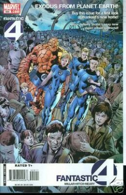 FANTASTIC FOUR #555 NM (2008)