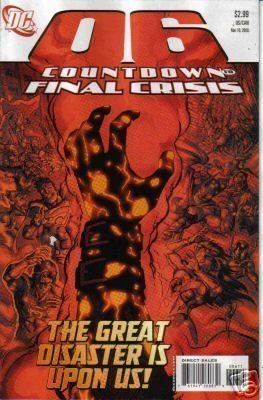 COUNTDOWN TO FINAL CRISIS #6 NM (2008)