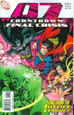 COUNTDOWN TO FINAL CRISIS #7 NM (2008)