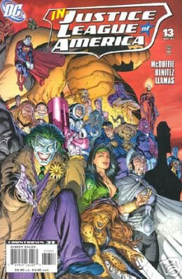 JUSTICE LEAGUE OF AMERICA #13B NM (2007)