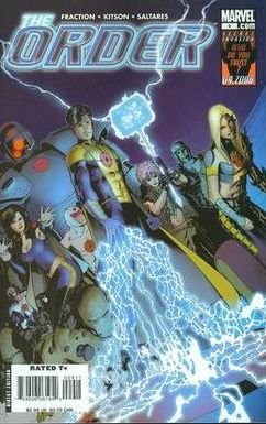 THE ORDER #9 NM (2008)