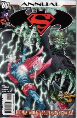 SUPERMAN BATMAN ANNUAL #2 NM (2008)