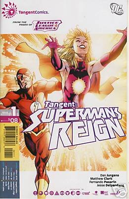 TANGENT: SUPERMAN'S REIGN #1 NM (2008)