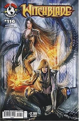WITCHBLADE #116 NM (2008) �IMAGE-