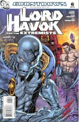 COUNTDOWN PRESENTS LORD HAVOK AND THE EXTREMISTS #6 NM (2008)