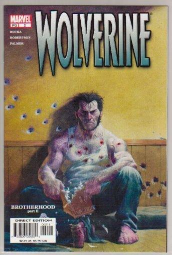WOLVERINE VOL 2 #2 - VF/NM