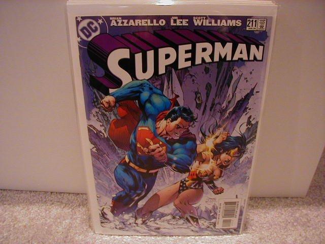 SUPERMAN #211 VF/NM WONDER WOMAN