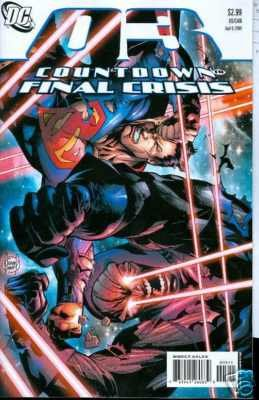 COUNTDOWN TO FINAL CRISIS #3 NM (2008)