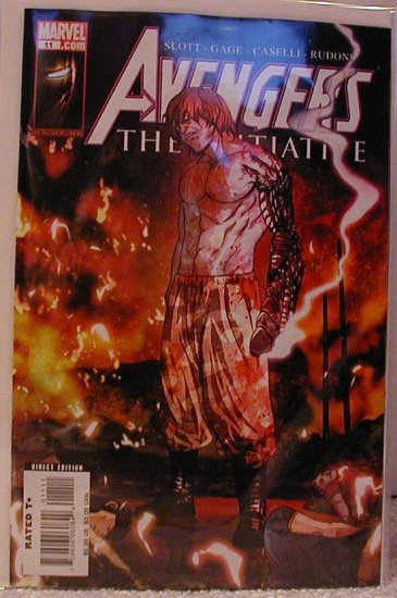 AVENGERS THE INITIATIVE #11 NM (2008)