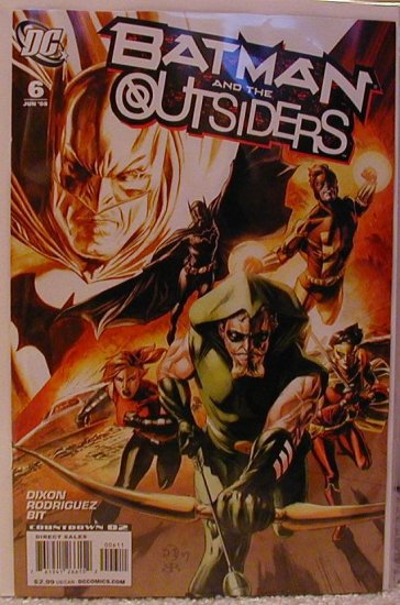 BATMAN AND THE OUTSIDERS #6 NM (2008)