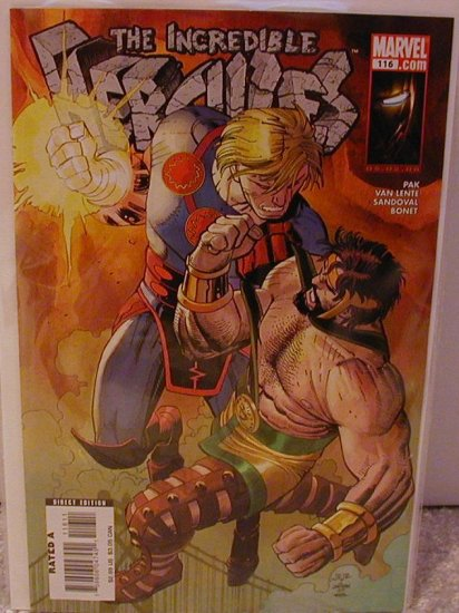 INCREDIBLE HERCULES #116 NM (2008)