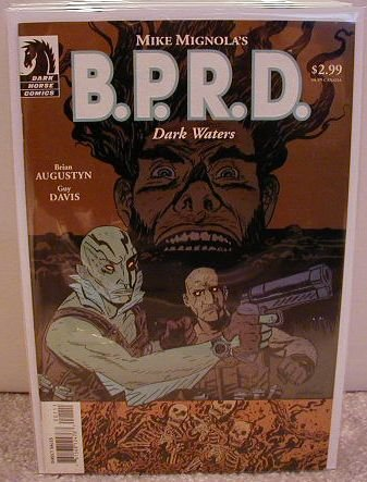 B.P.R.D. DARK WATERS  ONE-SHOT VF