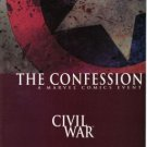 CIVIL WAR THE CONFESSION ONE-SHOT DEATH OF CAPTAIN AMERICA NM