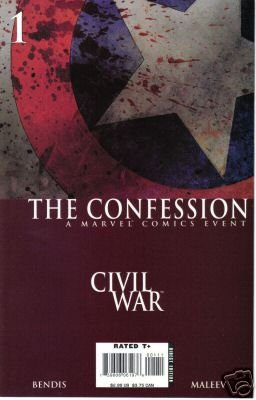 CIVIL WAR THE CONFESSION ONE-SHOT DEATH OF CAPTAIN AMERICA NM