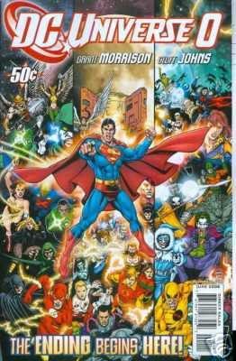 DC UNIVERSE ZERO NM    50 CENT COVER PRICE