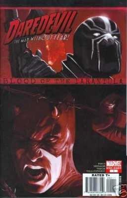 DAREDEVIL BLOOD OF THE TARANTULA NM (2008)