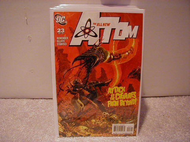 ALL NEW ATOM #23 NM (2008)