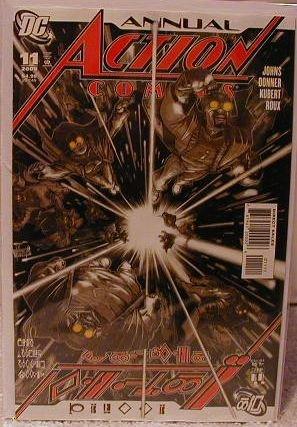 ACTION COMICS # ANNUAL 11 NM (2008)