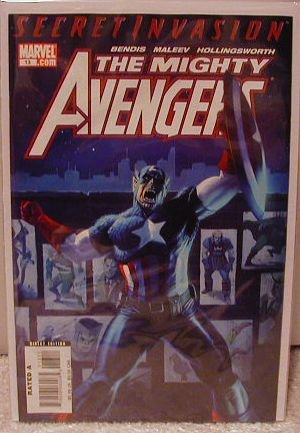 MIGHTY AVENGERS #13 NM (2008) SECRET INVASION
