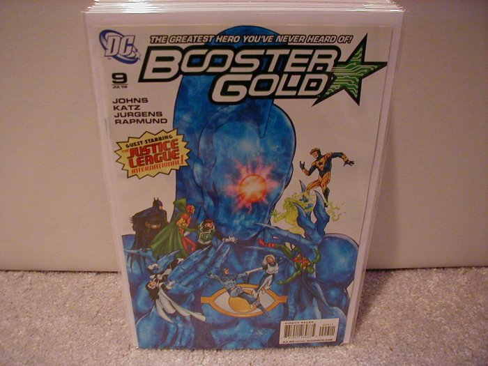 BOOSTER GOLD #9 VF/NM (2008)