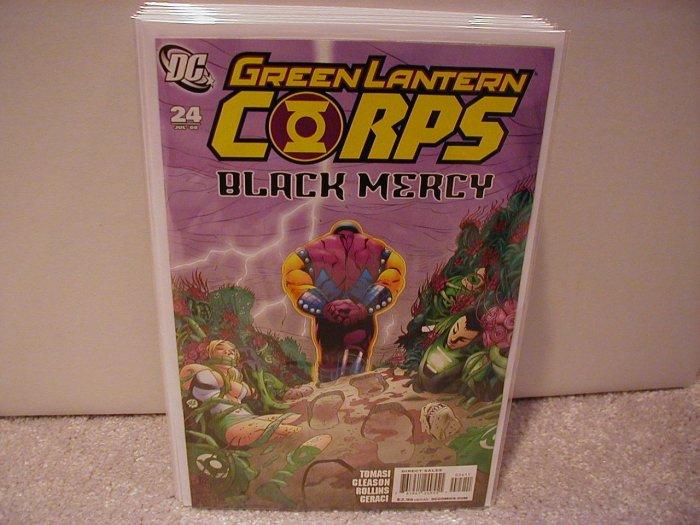 GREEN LANTERN - BLACK MERCY# 24 NM (2008)