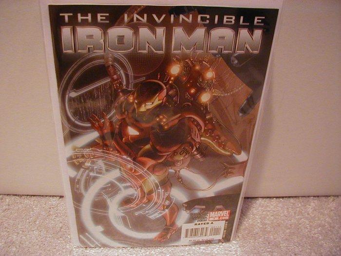 INVINCIBLE IRON MAN # 1 NM (2008) (COVER B)