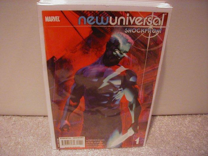 NEW UNIVERSAL SHOCKFRONT #1 NM(2008)