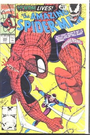 AMAZING SPIDER-MAN #345 VF/NM