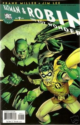 ALL STAR BATMAN & ROBIN #9  NM (2008) HOT GREEN LANTERN STORY!!