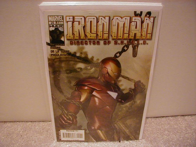 IRON MAN DIRECTOR OF S.H.I.E.L.D. #29 NM (2008)